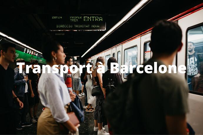 Transport à Barcelone
