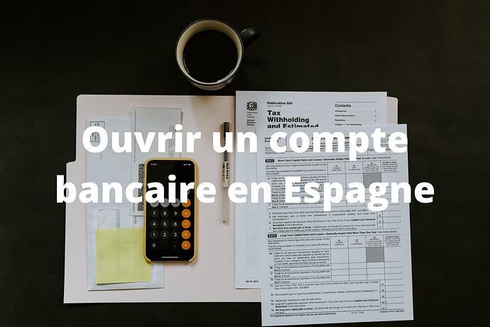 Compte bancaire en Espagne