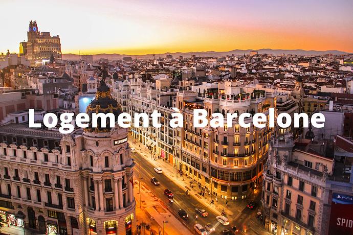 Logement à Barcelone